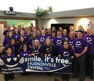Hudsonville Dentist Office Team